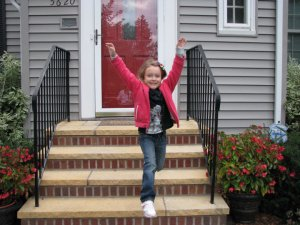 Reese first day of kindergarten