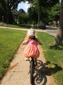 reese riding bike