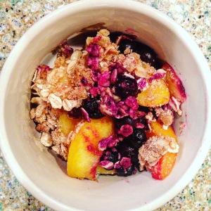 Fruit crisp Gwyneth