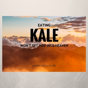 EATING KALE