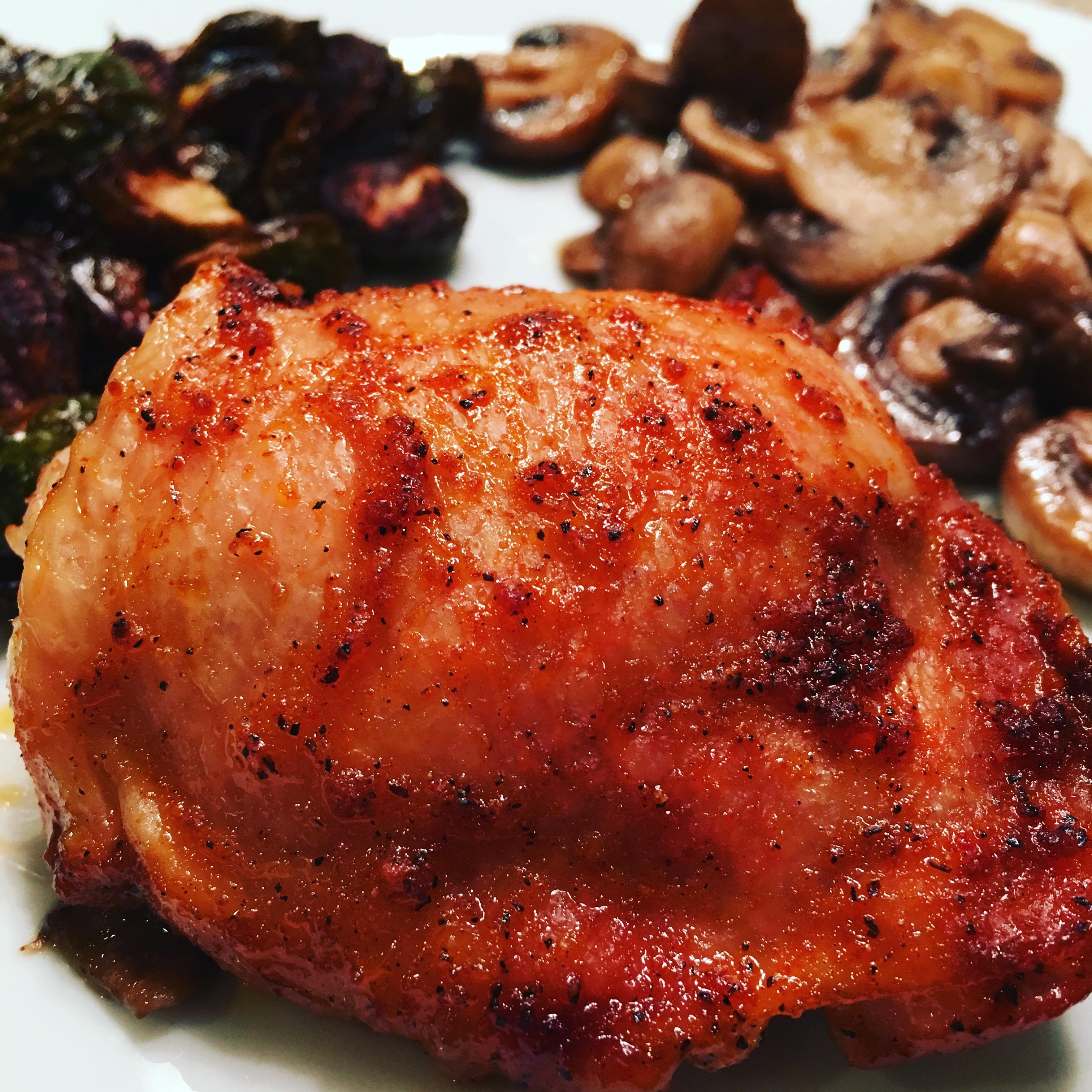 BBQ chicken spanish style