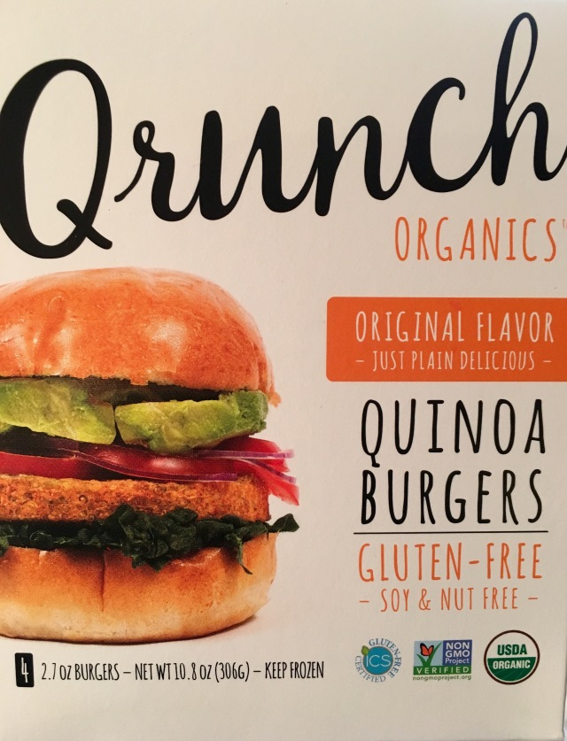Qrunch burger