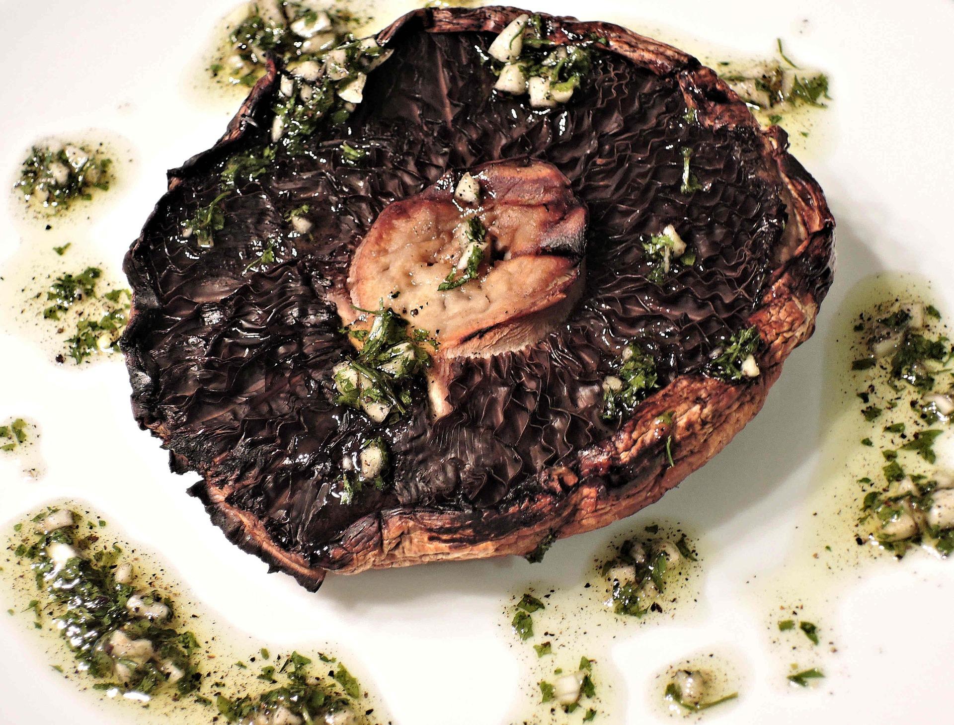 portobello grilled