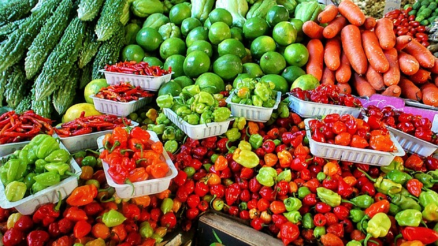 peppers and veggies